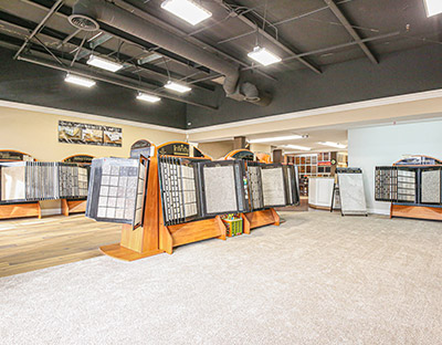 Spencer Flooring & Paint - Abbey Design Showroom - Featuring the latest trends, styles, and technologies for all your floor covering needs