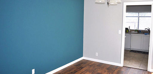 Hardwood, carpet and painting project by Spencer Flooring & Paint
